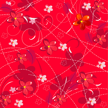 floral background Stock Vector - 6558222