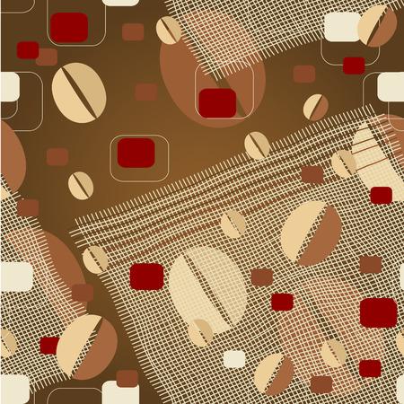 coffee_background Vektorové ilustrace