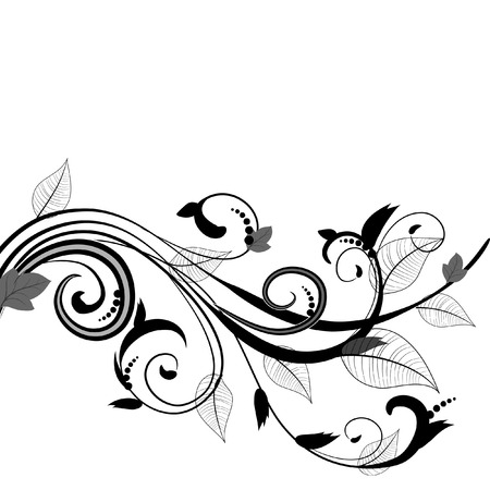 leaf pattern Stock Vector - 6633545