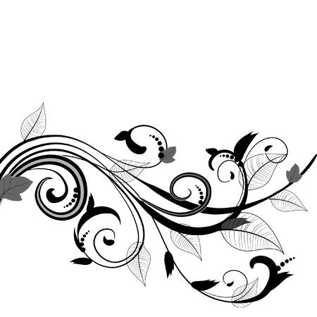 leaf pattern Stock Vector - 6633545