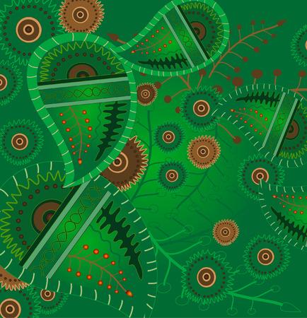 floral design Stock Vector - 6633663