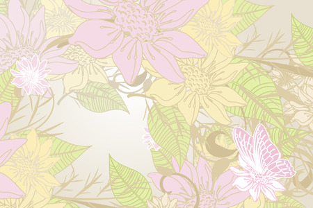 Flower Frame Stock Vector - 6697588