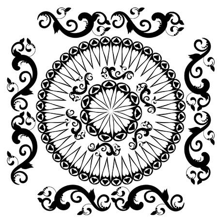pattern vintage Vector