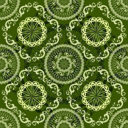 patterned background vintage seamless Vector