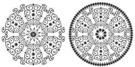 arabesque pattern Vector