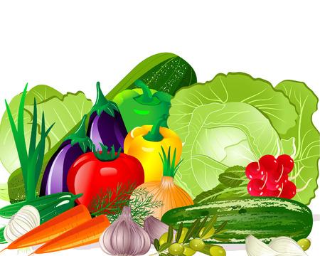 Vegetables Stock Vector - 6794384