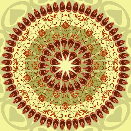 arabesque pattern Vector