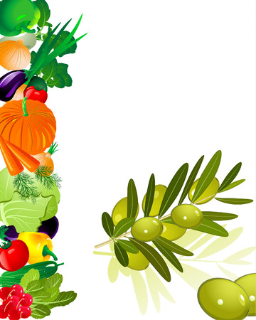 olive Stock Vector - 6794394