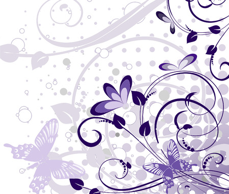 abstract floral pattern Stock Vector - 6794447