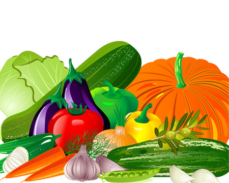 vegetables Stock Vector - 6795658