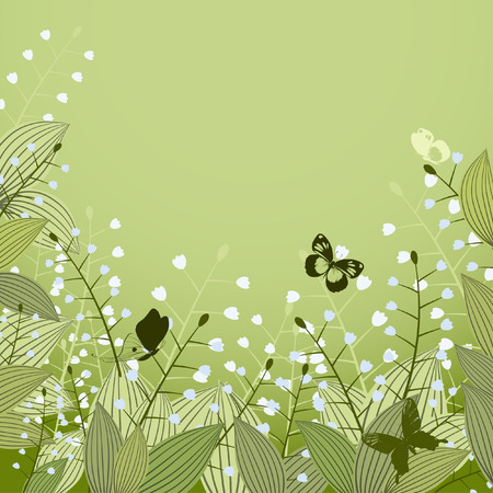 Lilies of the Valley Vector