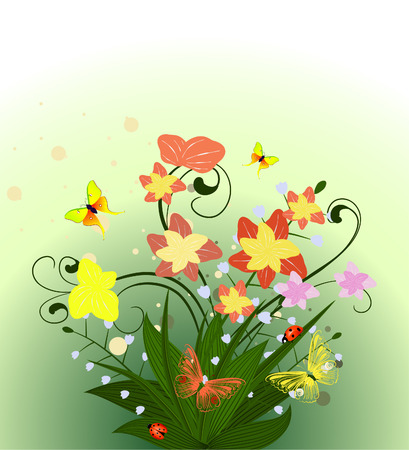 spring flower Stock Vector - 6979485