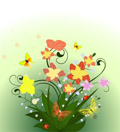 spring flower Stock Vector - 6979485