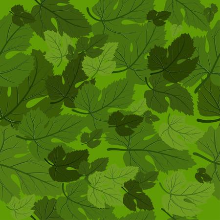victorian textile: background seamless leaf
