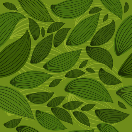 background seamless leaf Stock Vector - 6979511