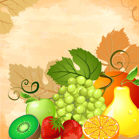 Fruit Still Life Stock Vector - 7028338