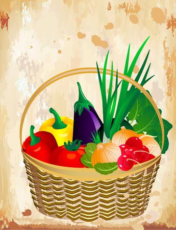 Still life de légumes
