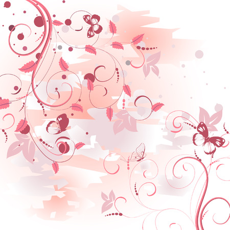 pattern pink dawn Stock Vector - 7097965