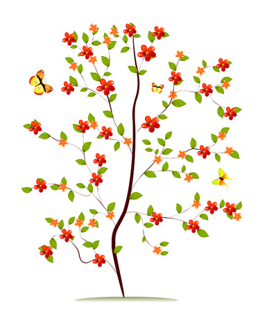 sapling flower Stock Vector - 7097974