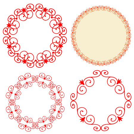frame arabesque Stock Vector - 7151199