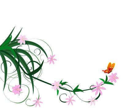 spring flower ornament Stock Vector - 7237132