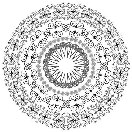 islamic pattern: oriental arabesque pattern