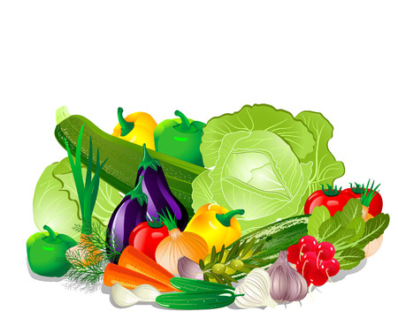 Vegetables Stock Vector - 7301573