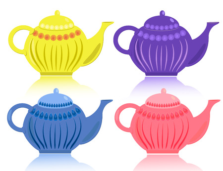 teakettle: Teapots Illustration