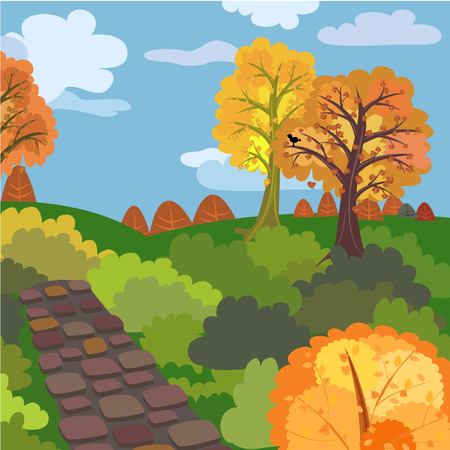 Autumn morning Stock Vector - 7718406