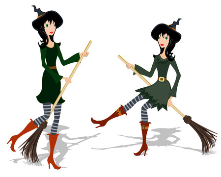 Witch Vector
