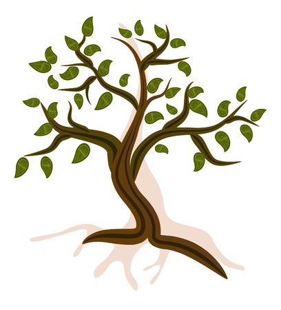 Mountain Tree Stock Vector - 7896796