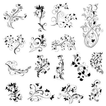 tatuaje mariposa: conjunto de patr�n