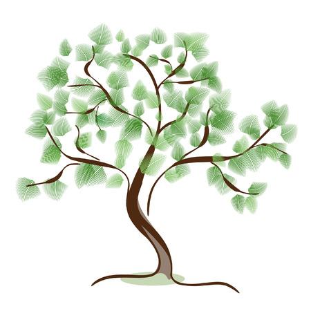 twig: Wood fluffy Illustration