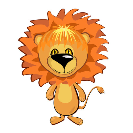 Young lion Stock Vector - 7896814