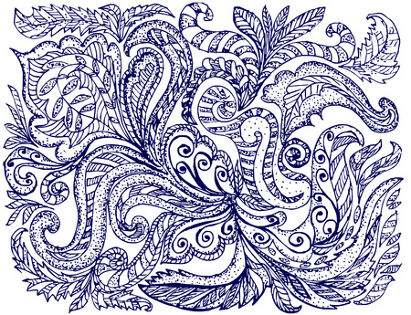 abstract pattern ink Vector