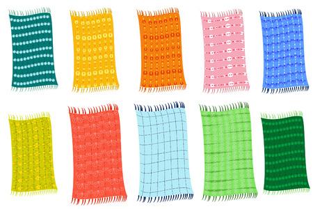 Towels Vector