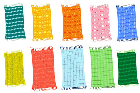 Towels Stock Vector - 8014513