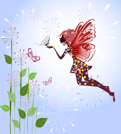 Celestial Fairy Stock Vector - 8076368