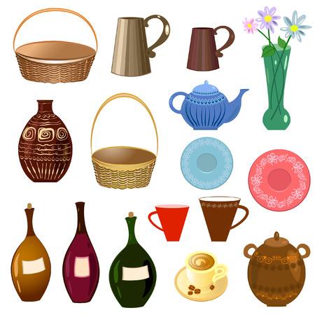 drink tools: set of kitchen utensils