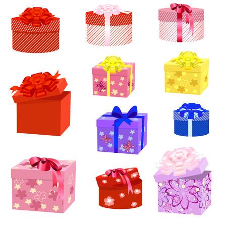 gift box packs Stock Vector - 8395251