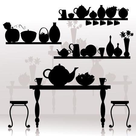 dining room Stock Vector - 8495256
