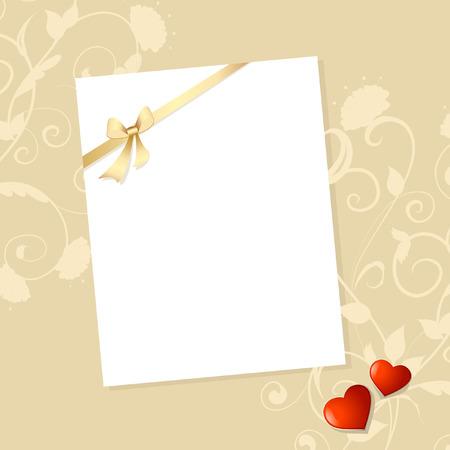Letter Valentine Stock Vector - 8540649