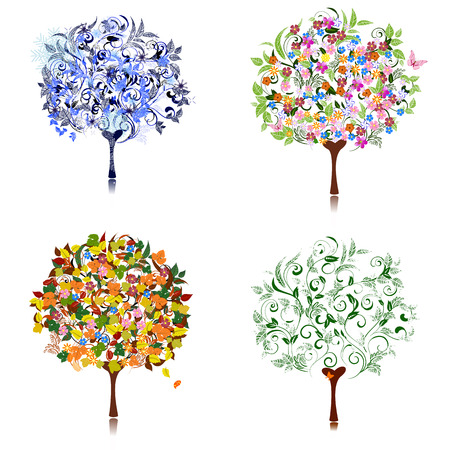 tree season Stock Vector - 8540655