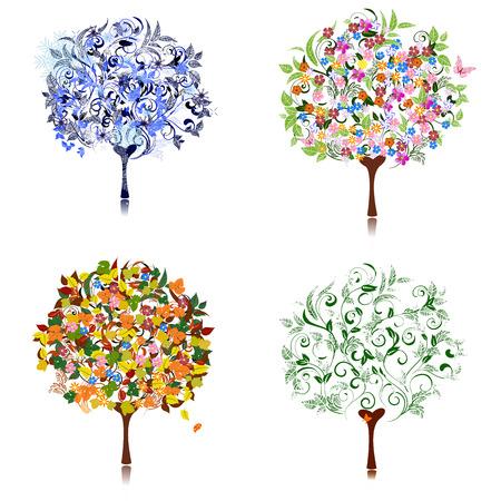 tree season Vector