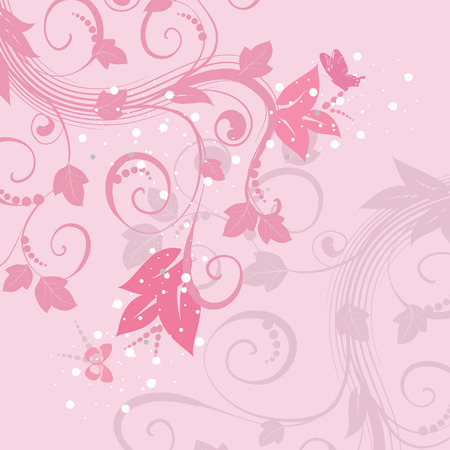 abstract background of pink pattern Vector