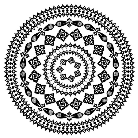 arabesque pattern: oriental arabesque pattern round