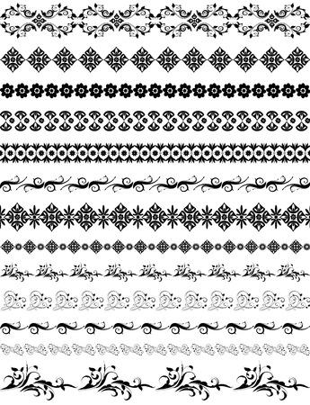 frontiera orientale arabesque pattern