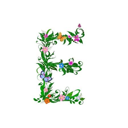 Cover letter flower Stock Vector - 9718790