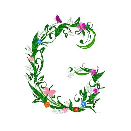 Cover letter flower Stock Vector - 9718789