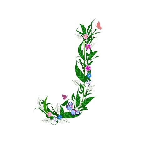 Cover letter flower Stock Vector - 9718783